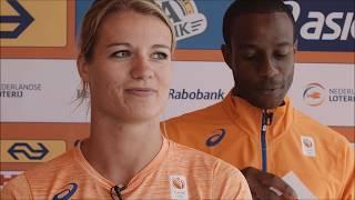 WK Londen - Ja en Nee met Dafne Schippers & Gregory Sedoc
