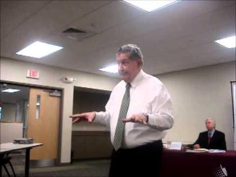 Casino forum - Sen. D'Allesandro argues for casino bill 03-01-13