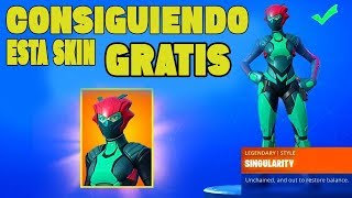 GETTING THIS SKIN GRATUIT!!! FORTNITE ? ARIEL056YT