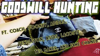 GOODWILL HUNTING FT. COACH, DOONEY, ADIDAS, TED BAKER, ASOS, POLO, LACOSTE, & ANOTHER FAKE CHANEL?!