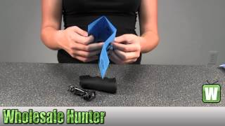 Hogue AR-15 Rubber Grip w/ Storage Kit Black 15010 Shooting Gaming Unboxing