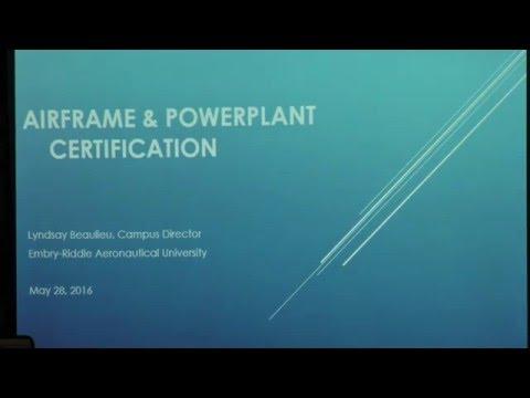Airframe & Powerplant Certification