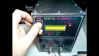 Лабораторный блок питания на Arduino