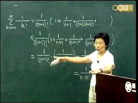 Lec14 高等微積分(一) 第三章 Numerical Sequences and Series