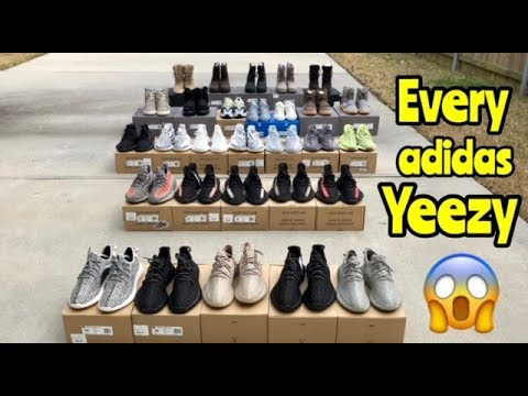 4189aca7ec21a Every adidas Yeezy to release so far - YouTube