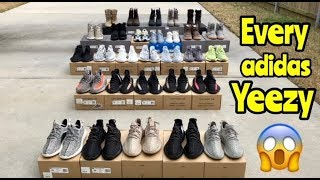 Every adidas Yeezy to release so far