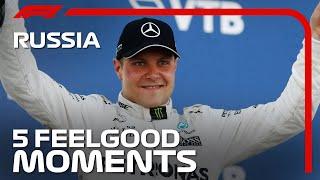 5 Feel Good Moments At Sochi: Russian Grand Prix