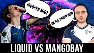 UNEXPECTED OUTCOME?! LIQUID vs MangoBay - AMAZING MATCH! DreamLeague 10 Minor Dota 2
