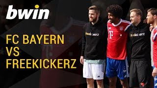 FC Bayern vs freekickerz