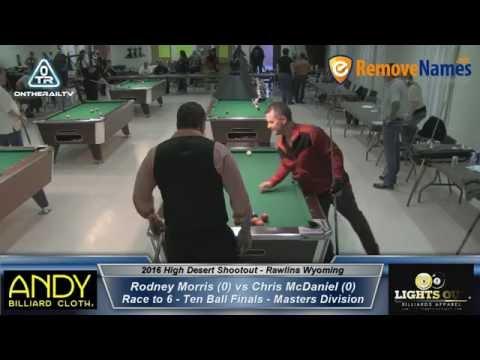 Rodney Morris vs Chris McDaniel - 2016 High Desert Shootout 10 Ball Finals