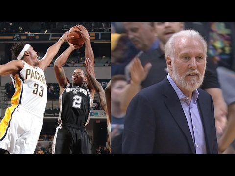 Spurs Set NBA Record 20 Consecutive Winning Seasons! Pacers vs Spurs