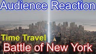 Audience Reaction - Time Travel BATTLE OF NEW YORK (Avengers: Endgame Theater Reaction) 08