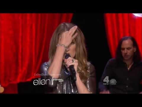 Celine Dion - Loved Me Back To Life on Ellen 9/11/13 [HD 1080p]