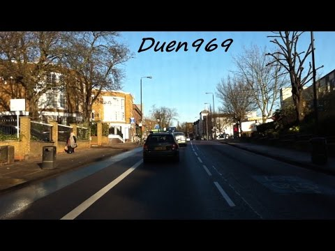 London Streets (465.) - South Wimbledon - Balham - Clapham - Elephant & Castle