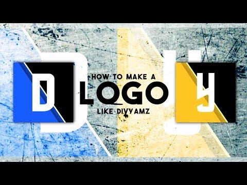 How To Make Logo Like Divyamz    Yuvrajz