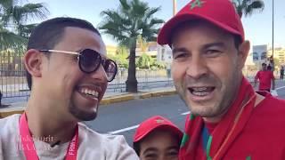 Vlog 3 / maroc vs comores جماهير جزر القمر تخلق الحدث ومشجعو المنتخب متذمرون