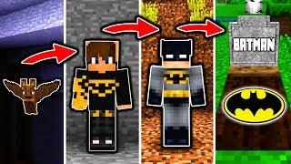 BATMAN LEBENSZYKLUS in Minecraft - Von einer FLEDERMAUS zum HELDEN