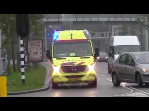 Ambulance Services of Amsterdam (Compilation)