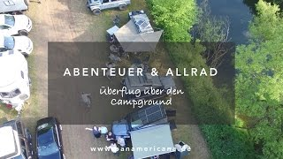 Abenteuer Allrad 2016 Die Camp-Area in Bad Kissingen