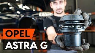 Montage OPEL ASTRA G Hatchback (F48_, F08_) Autoscheinwerfer: kostenloses Video
