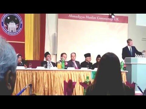 Kefale Alemu on the 2016 National Peace Symposium of Ahmadiyya at the Baitul Futuh Mosque Prt I