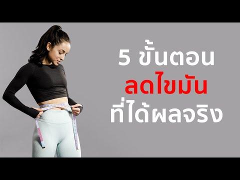 5 ขั้นตอน ลดไขมัน & ปั้นหุ่นลีน สำหรับผู้หญิง