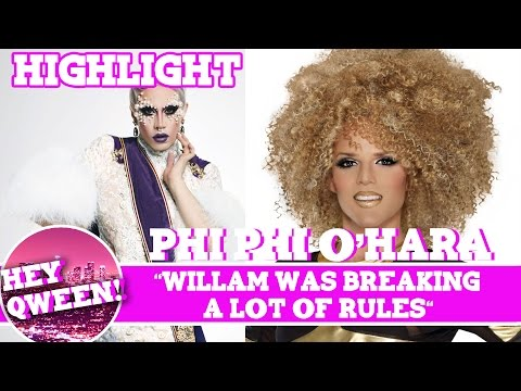 """Hey Qween! Highlight: Phi Phi O'Hara """"Willam Was Breaking A lot Of Rules"""""""