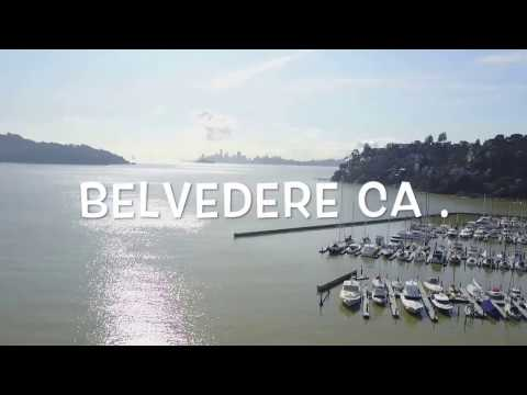 Belvedere - Tiburon Ca. drone video