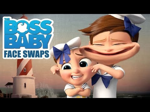 THE BOSS BABY Funniest FACE SWAPS Ultimate Craziness - Try Not To Laugh Compilation