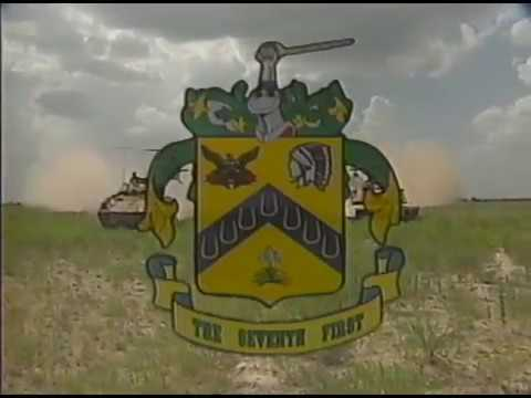 1st Squadron, 7th US Cavalry Garryowen Welcome Video - 1995