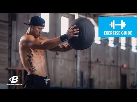 Burpee to Medicine Ball Press   Exercise Guide