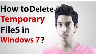 How to delete temporary files in windows 7 in 2016