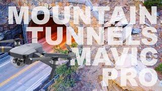 4K Stunning Mountain Tunnels by Drone   DJI Mavic Pro