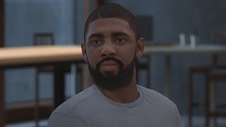 NBA 2K18 My Career - Kyrie Irving Ducking 1v1! PS4 Pro 4K Gameplay