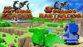 3 Gordos Bastardos - Reseña 3D Dot Game Heroes