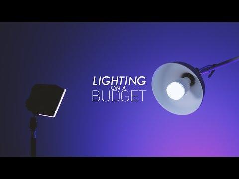 Lighting on a Budget