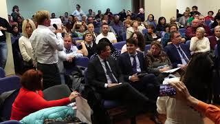 Встреча главы Управы В.М.Фалеева  с жителями 17.10.18