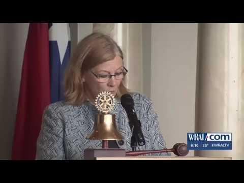 Mayor Nancy McFarlane Speaks To Raleigh Rotary