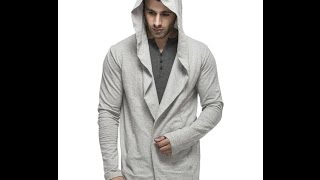 uNBOXING hooded cardigan