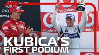 Robert Kubica's First F1 Podium | 2006 Italian Grand Prix