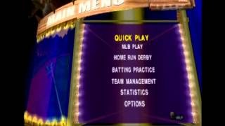 All Star Baseball 2002 PS2 Main Menu theme