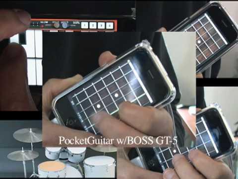 Deep Purple - Smoke on the Water Cover : Pocket Organ C3B3 & PocketGuitar
