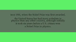 What country has produced the most winners of the Nobel Prize in physics?