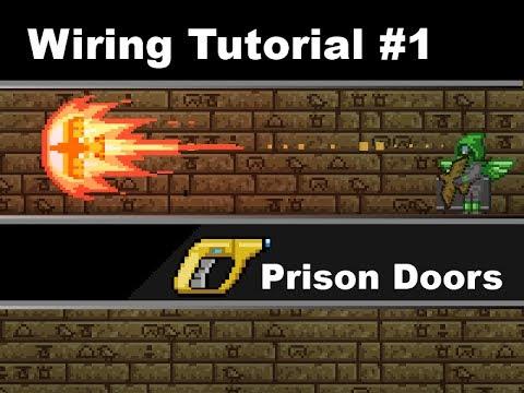 starbound wiring tutorial 1 jail doors youtube rh youtube com