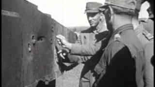 Демонстрация немецкого противотанкового оружия