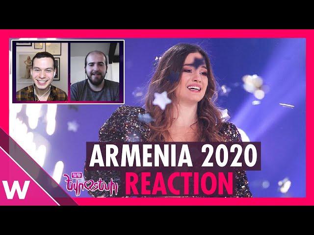 Athena Manoukian wins Depi Evratesil | Armenia Eurovision 2020 REACTION