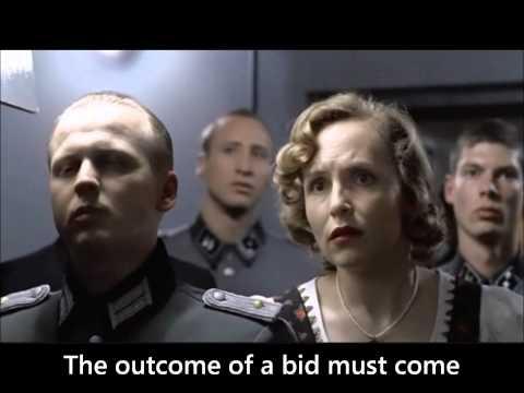 Hitler discovers a procurement lapse