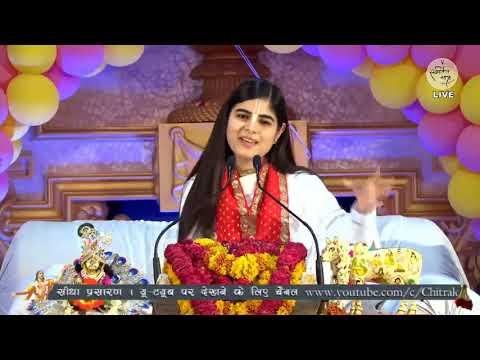 पीसफुल श्री कृष्णा भजन - Jug Jug Jive Ri Yashoda Maiya #DeviChitralekhaji || Bhagwat Katha Bhajan