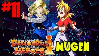 Girls Night Out: SSJ Pan and Android 18! | Dragon Ball Heroes MUGEN - Episode 11