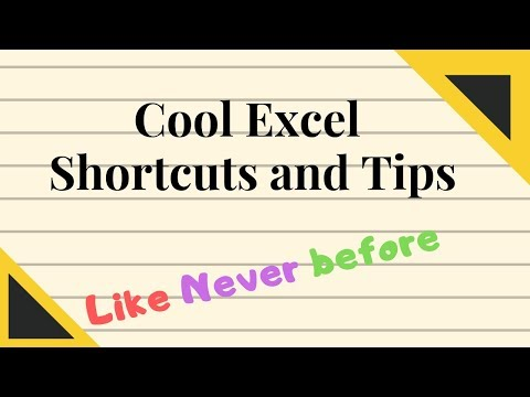 Excel Shortcuts !! (like never before) thumbnail
